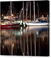 Scarborough Boats Canvas Print