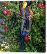 Scare Bird Canvas Print