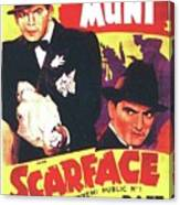 Scarface 1932 French Revival Unknown Date Canvas Print