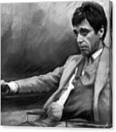 Scarface 2 Canvas Print