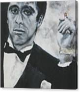 Scarface2 Canvas Print