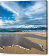 Scarista Beach Isle Of Harris Canvas Print