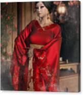 Scarlet Empress Canvas Print