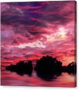 Scarlet Skies Canvas Print