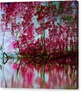 Scarlet Water Canvas Print