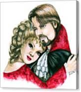 Scarlett And Nick Canvas Print