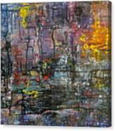 Schematics Of The Arcane Canvas Print