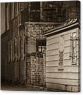 Scene From Yesteryear #1 Canvas Print