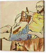 Scene Of Everyday Life Canvas Print
