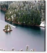 Scene Over Diablo Lake Canvas Print