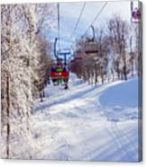 Scenery Around Timberline Ski Resort West Virginia Canvas Print
