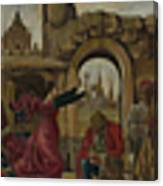 Scenes From The Life Of Saint Vincent Ferrer Canvas Print