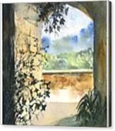 Scenes Of Sicily, I Canvas Print
