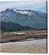 Scenic Alaska Color  Canvas Print
