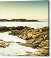 Scenic Coastal Dusk Canvas Print
