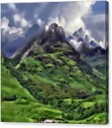Scenic Glen Coe Canvas Print