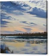 Scenic Overlook - Delaware River Canvas Print