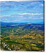 Scenic Road To Zagreb Canvas Print