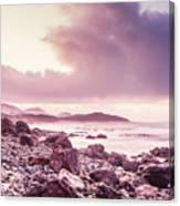Scenic Seaside Sunrise Canvas Print