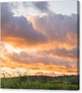 Scenic Sunset In Poipu, Kauai Island Canvas Print