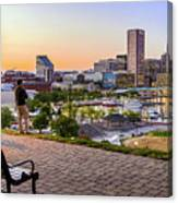 Scenic View From Federal Hill Canvas Print
