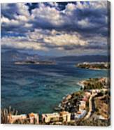 Scenic View Of Eastern Crete Canvas Print