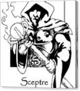 Sceptre Canvas Print