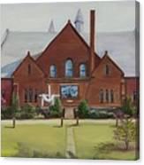 Schaeffer Center  Ally View Frederick Md Canvas Print