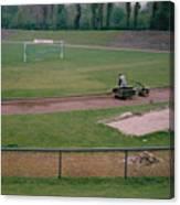 Schalke 04 - Glueckauf-kampfbahn - East Side - April 1997 Canvas Print