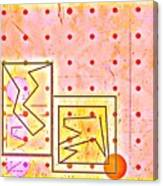 Schematics Of A Nu Love Affair Canvas Print