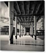Scheveningen Pier 3 Canvas Print