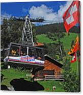 Schilthorn Cable Car Murren Canvas Print