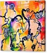 Schlieren Chiarascuro Canvas Print