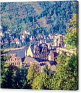 Schloss Heidelberg Canvas Print