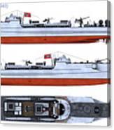 Schnellboot S100 Canvas Print