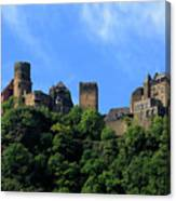 Schoenburg Castle Oberwesel Germany Canvas Print