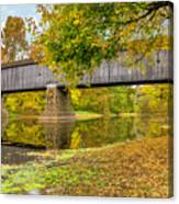Schofield Bridge Over The Neshaminy Canvas Print