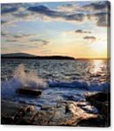 Schoodic Sunset Canvas Print