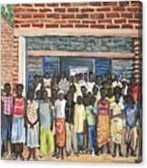 School Class Burkina Faso Series Canvas Print