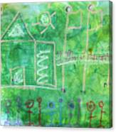School Canvas Print