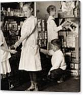 School Store, 1917 Canvas Print
