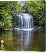 Schoolhouse Falls Canvas Print