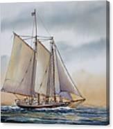 Schooner Stephen Taber Canvas Print