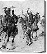 Schreyvogel: Attack, 1905 Canvas Print