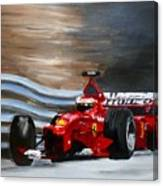 Schumacher Monaco Canvas Print