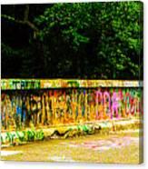Schuylkill Graffiti Canvas Print