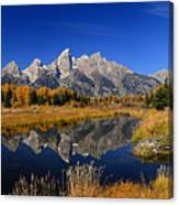 Schwabacher Landing Panorama Canvas Print
