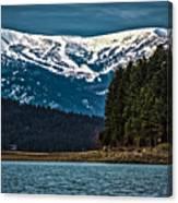 Schweitzer Mountain Resort Canvas Print