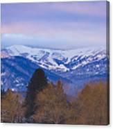 Schweitzer Ski Area Canvas Print