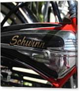 Schwinn Black Phantom Canvas Print